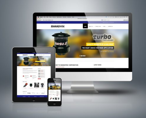 Manufacturing Website Template Live Demo